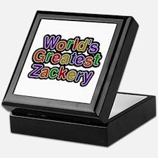 World's Greatest Zackery Keepsake Box
