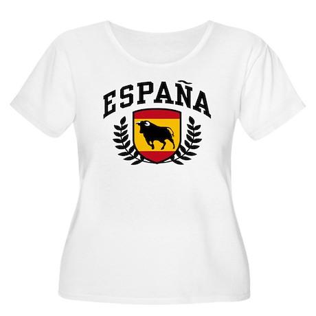 Espana Women's Plus Size Scoop Neck T-Shirt