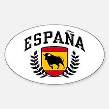 Espana Sticker (Oval)