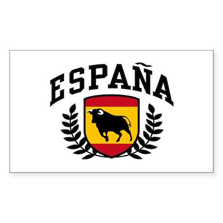 Espana Sticker (Rectangle)