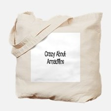 Crazy About Armadillos Tote Bag