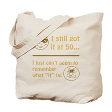 Funny Faces 50th Birthday Tote Bag