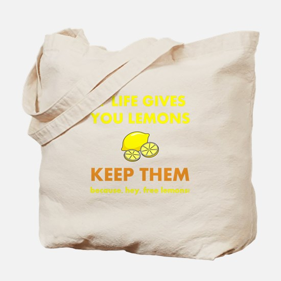 Life Gives You Lemons Tote Bag