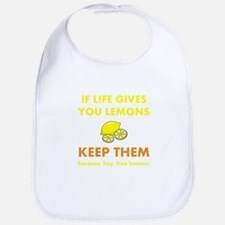Life Gives You Lemons Bib