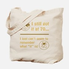 Funny Faces 70th Birthday Tote Bag