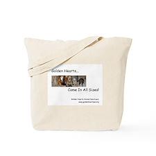 Golden Hearts Tote Bag
