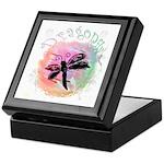 Summer Dragonfly Keepsake Box