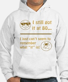 Funny Faces 80th Birthday Hoodie