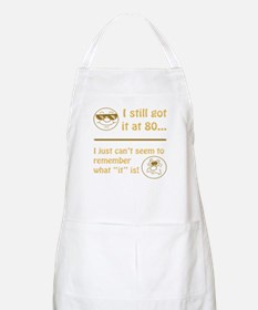 Funny Faces 80th Birthday Apron