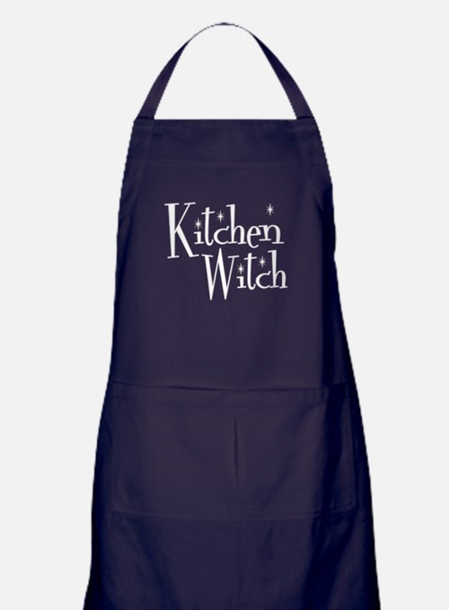 Kitchen Witch Apron (dark)