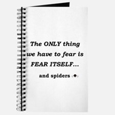 Fear Spiders Journal