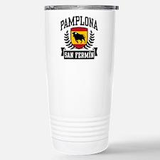 Pamplona San Fermin Stainless Steel Travel Mug