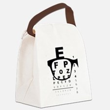 Cool Optical Canvas Lunch Bag