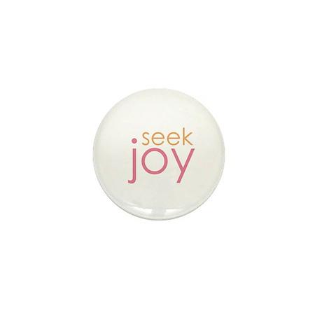 seek joy Mini Button (10 pack)