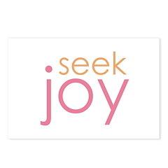 seek joy Postcards (Package of 8)