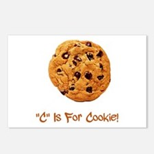 """""""C"""" Is For Cookie Postcards (Package of 8)"""