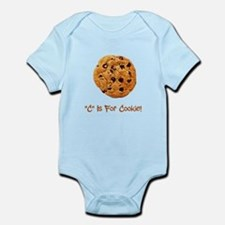 """C"" Is For Cookie Infant Bodysuit"