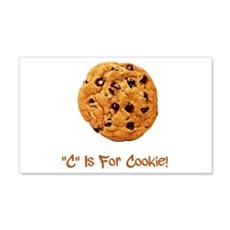 """""""C"""" Is For Cookie 22x14 Wall Peel"""