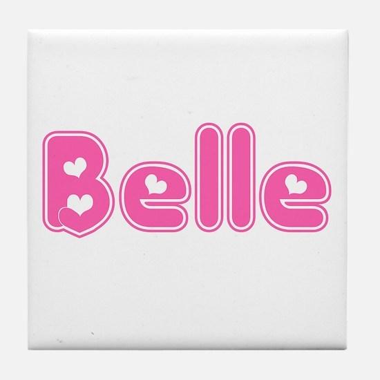 """""""Belle"""" Tile Coaster"""