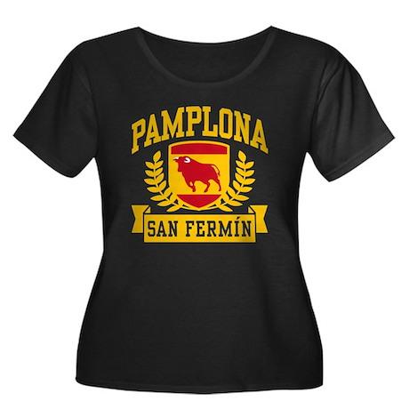 Pamplona San Fermin Women's Plus Size Scoop Neck D
