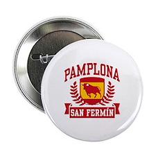 "Pamplona San Fermin 2.25"" Button"