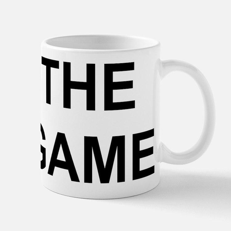 The Game black Mugs
