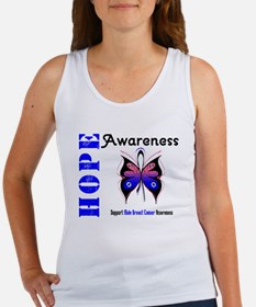 Male Breast Cancer Hope Women's Tank Top