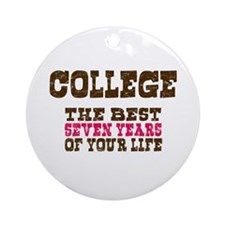 College Ornament (Round)