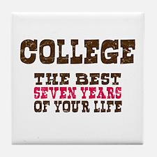 College Tile Coaster