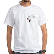Sweet Joeys Stork On Front Shirt