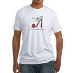 High Heel Shoes Fitted T-Shirt