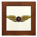 Wings of a Shrine Pilot Framed Tile