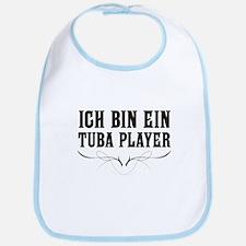 Ich Bin Ein Tuba Player Bib