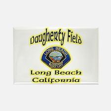 Long Beach Airport Rectangle Magnet