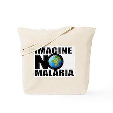 Imagine No Malaria Tote Bag