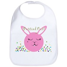 Partied Out Bunny Bib