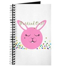 Partied Out Bunny Journal