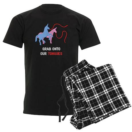 Tongues Men's Dark Pajamas