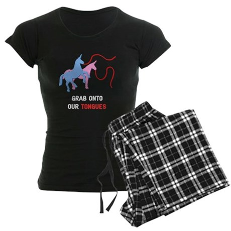 Tongues Women's Dark Pajamas