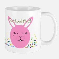 Partied Out Bunny Mug