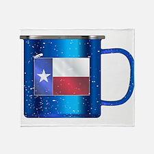 Texan Tin Cup Throw Blanket