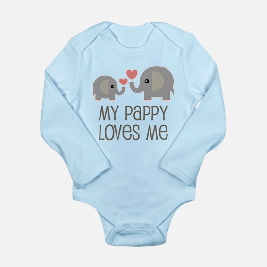My Pappy Loves Me Gift Body Suit