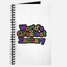World's Greatest Zackary Journal