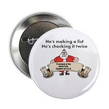 """Santa's list 2.25"""" Button"""