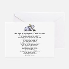 """""""Lord is My Shepherd"""" Greeting Cards (Pk of 10"""