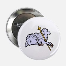 """""""Lord is My Shepherd"""" 2.25"""" Button (10 pack)"""