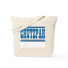 CHUTZPAH Tote Bag