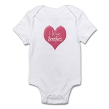 Cool I love boobies Infant Bodysuit
