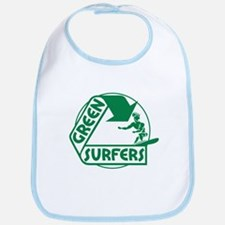 Green Surfers Bib