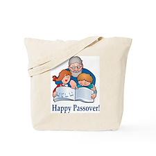 Reading Hagada Tote Bag